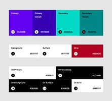 best color use Web Design