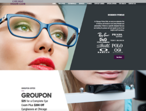 optometry web design