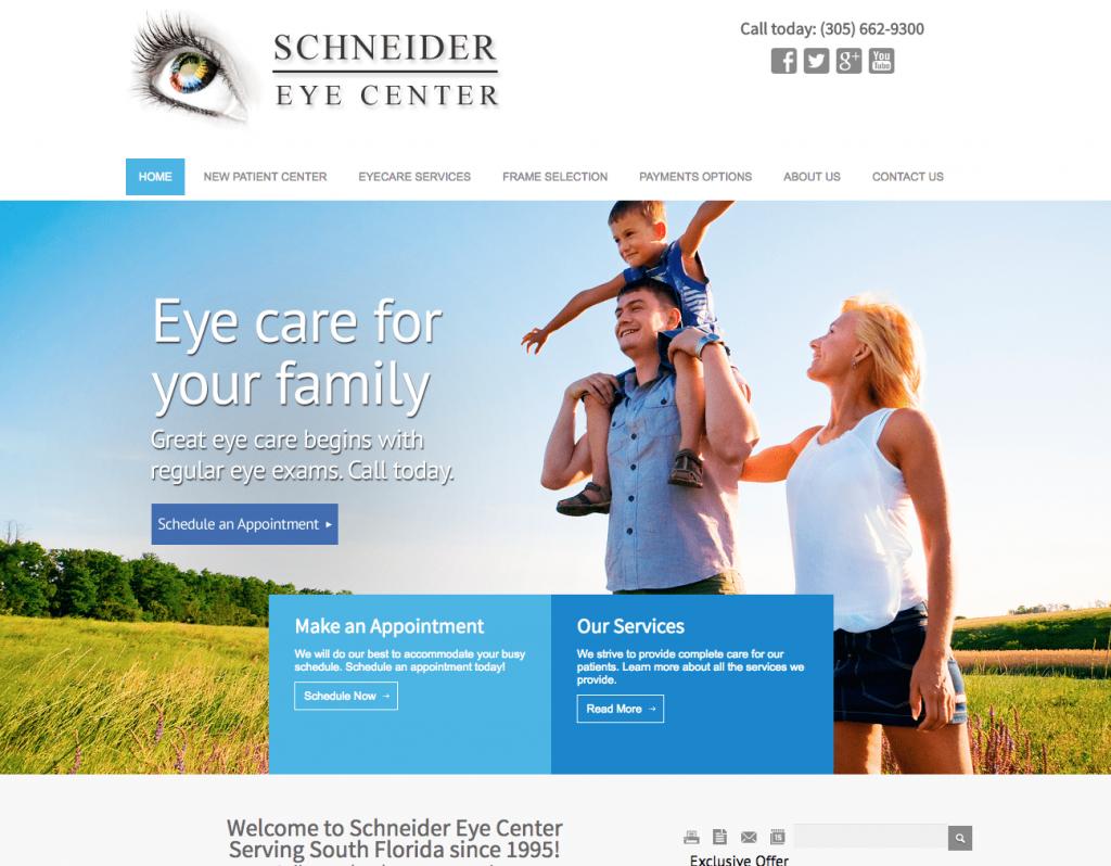 Optometry Web Design