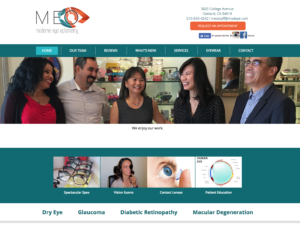 Optometry Website Design