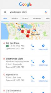 google map ads