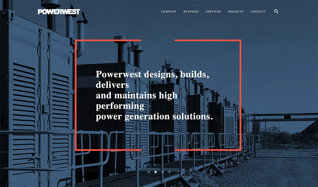 website for b2b powerwest